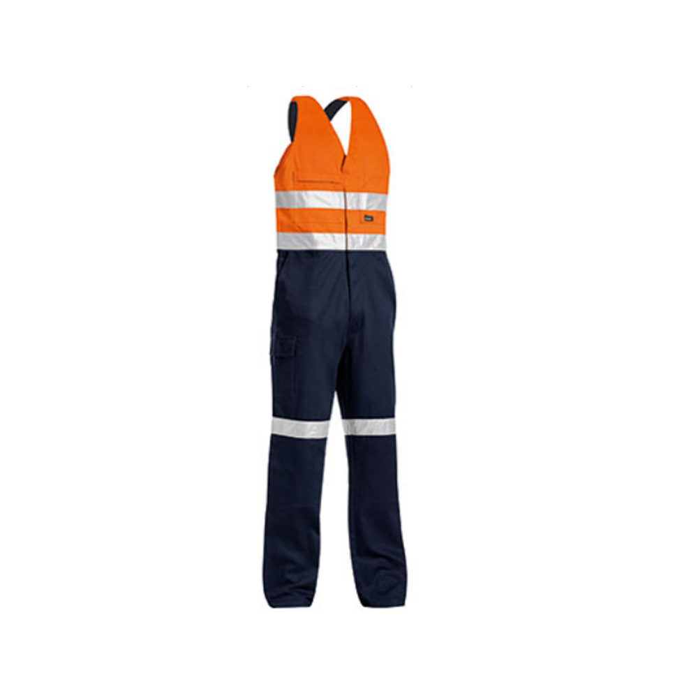 2-Tone Multi Pocket Hi Viz Bib Trouser