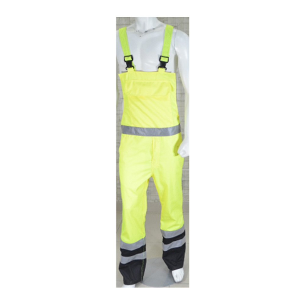 Two-Tone Multi Pocket Hi Viz Bib Trouser