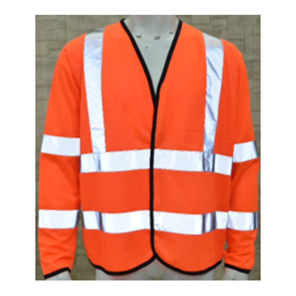 Hi Viz Work Vest Long Sleeve